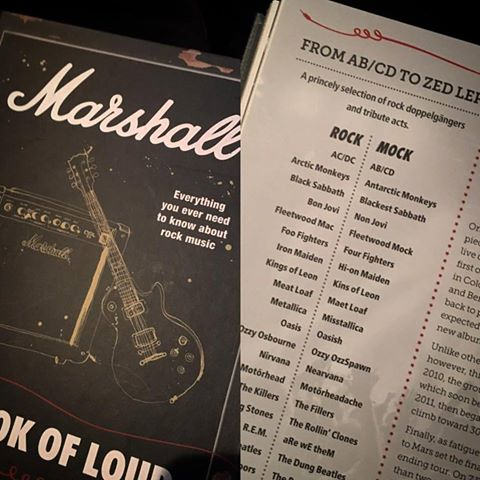 Marshall Book Of Loud